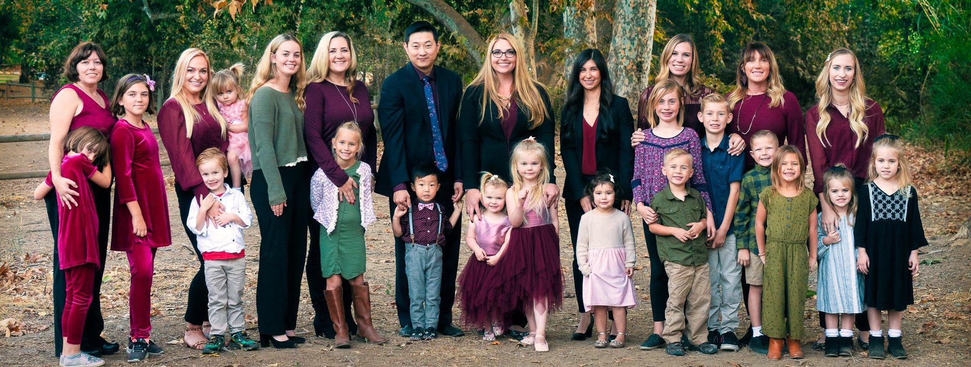 Hermance Law Team with children